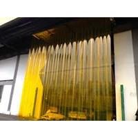 Distributor PVC strip Curtain PVC Plastik Kuning  3