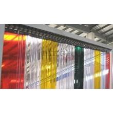 PVC strip Curtain PVC Plastik Kuning