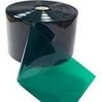 Tirai PVC Strip Curtain untuk las Green