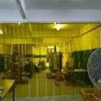 PVC strip Curtain Kuning Cikarang Palembang 1