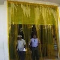 Jual Tirai PVC strip Kuning Bogor dan Bekasi 2