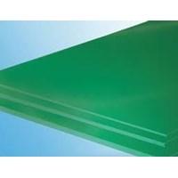 UHMW PE 1000 lembaran warna hijau