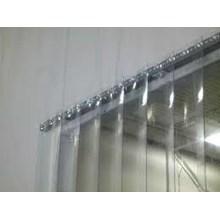 Tirai PVC Blue clear Pulogadung
