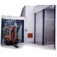 Kawasan industri ( Sentul tirai blue Clear PVC )