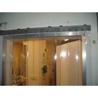 (0857 7944 1780)Transparan Strip Curtain kuning solo
