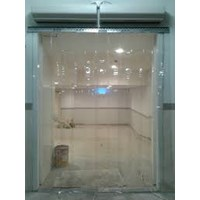 tirai pvc curtain ( blue clear murah )(0857 7944 1780)