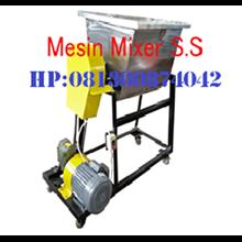 Mesin Mixer Pencuci Limbah Karet
