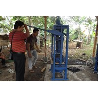 Jual Mesin Press Batako Sistem Getar