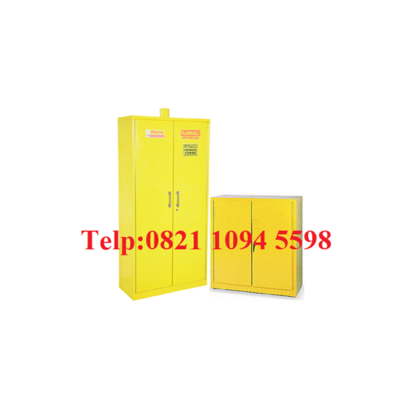 Chemical Storage Cabinet Lemari Laboratorium
