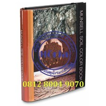 Harga Munsell Soil Color Book (Buku Bagan Warna Tanah)