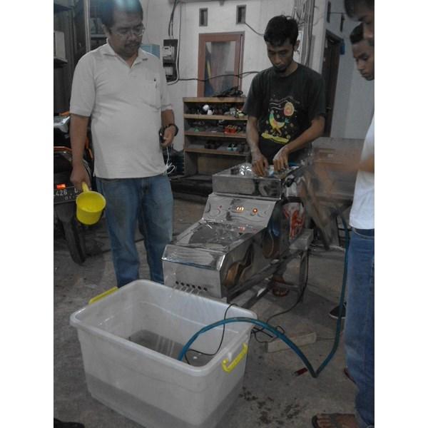 Mesin Penghitung Benih Ikan (Fry Counter) Murah