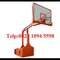 Ring Basket Portable Papan Pantul Fiber