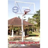 Ring Basket Tiang Tanam Papan Pantul Akrilik