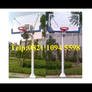 Basketball Hoop Pole PlantingReflective Acrylic Board
