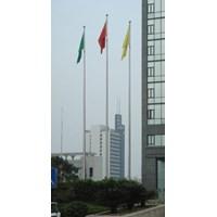 Tiang Bendera Bahan Stainless Steel