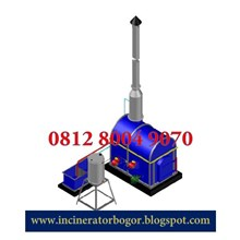 Mesin Incinerator Double Burner Kapasitas 10 kg (M