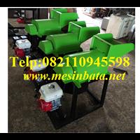Mesin Pencacah Kompos / Mesin Penghancur Bahan Baku Pupuk Organik EC01