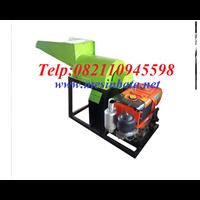 Mesin Pencacah Kompos / Mesin Penghancur Bahan Baku Pupuk Organik EC03