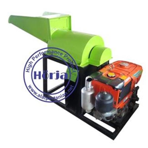 Mesin Pencacah Kompos / Mesin Penghancur Bahan Baku Pupuk Organik EC04