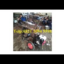 Mesin Pengupas (kulit tanduk) Kopi Kering - Huller Kopi Stainless Portable Roda