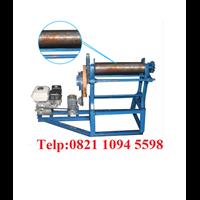 Mesin Hand Mangel Press Karet Polos Dengan Motor Penggerak