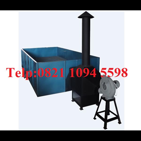 Mesin Box Dryer - Mesin Pengering Kemiri Kap. 750 Kg/Proses Tanpa Pengaduk
