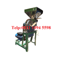 Mesin Penepung Umbi (Disk mill) Stainless Steel Kapasitas 650 Kg