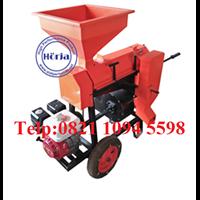 Mesin Pengupas (Kulit Tanduk) Kopi Kering - Huller Kopi Besi - Portable dengan Roda