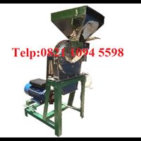 Mesin Penepung Jagung (Disk mill) Stainless Steel Kapasitas 55 Kg/ Jam