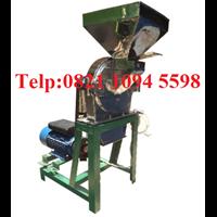 Mesin Penepung Jagung (Disk mill) Stainless Steel Kapasitas 650 Kg/Jam