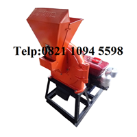 Mesin Penepung Jagung (Disk mill) Besi Kapasitas 380 Kg/Jam