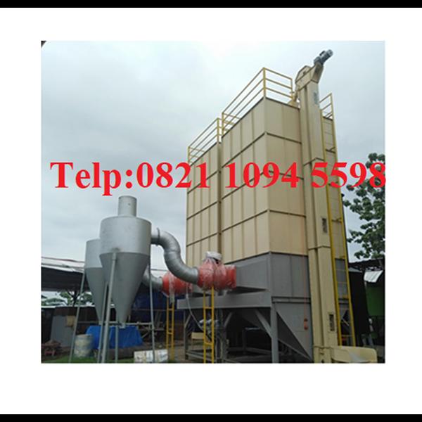 Mesin Pengering Jagung  - Kopi - Coklat Kakao ( Vertical Dryer) Kapasitas 10000 Kg/Batch