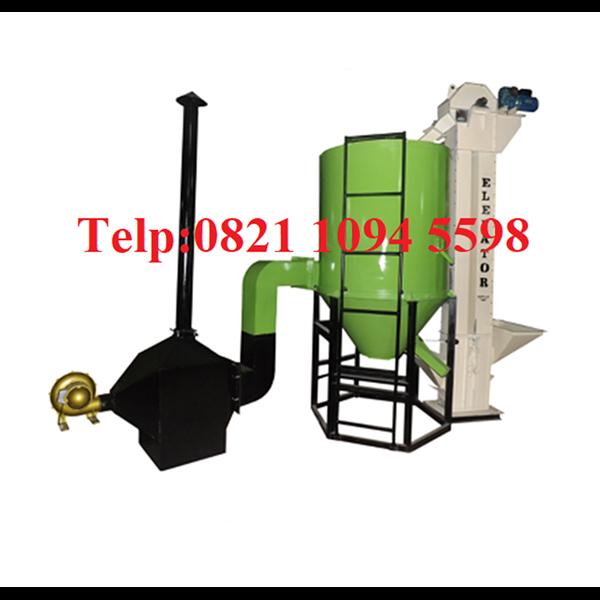 Mesin Vertical Dryer Pengering Kacang Tanah - Mesin Pengering Biji-Bijian Kapasitas 750 Kg/Proses