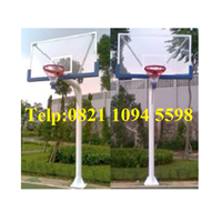 Harga Ring Basket Tiang Tanam Dengan Papan pantul Akrilik Tebal 20 MM