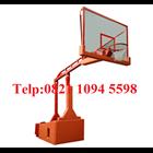Harga Ring Basket Portable Hidrolik Manual Dapat Dilipat /Naik Turun Dengan Papan Pantul Akrilik Tebal 15 MM 2