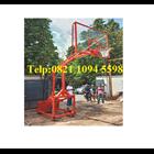Harga Ring Basket Portable Hidrolik Manual Dapat Dilipat /Naik Turun Dengan Papan Pantul Akrilik Tebal 15 MM 1