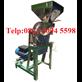 Mesin Penepung Jagung - Disk Mill Stainless Steel Kapasitas 55 Kg/Jam