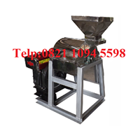 Pabrikasi Mesin Penepung Jagung - Hammer Mill Material Stainless Steel