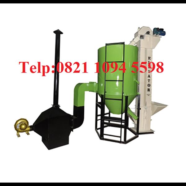Mesin Pengering Jagung - Vertical Dryer - Mesin Pengering Biji-Bijian
