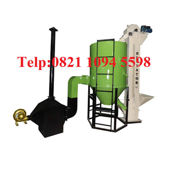 Katalog Mesin Pengering Jagung - Vertical Dryer - Mesin Pengering Biji-Bijian