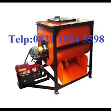 Mesin Mixer Kompos Kapasitas 250-300 Kg / Batch
