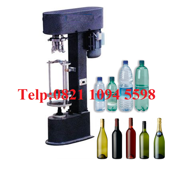 Mesin Penutup Botol Plastik & Alumunium
