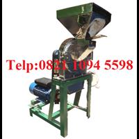 Mesin Penepung Pinang (Disk Mill) Stainless Steel Kapasitas 650 Kg/Jam