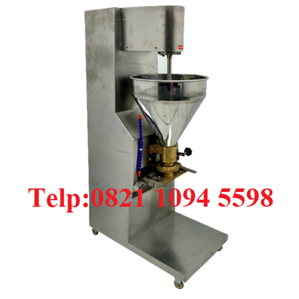 Pabrikasi Dan Penan Mesin Cetak Bakso Sistem Sendok