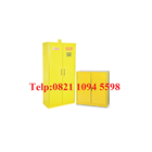 Lemari Laboratorium - Steel Chemical Storage Cabinet 2 Doors (Hazardous Material) 2