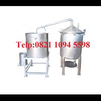 Alat Destilasi / Penyulingan Minyak Atsiri Kapasitas Mesin 100-150 kg bahan baku