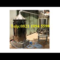 Alat Destilasi / Penyulingan Minyak Atsiri Kapasitas Mesin 150-200 kg