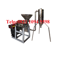 Mesin Hammer Mill With Cyclone  Material Stainless Steel - Mesin Penepung