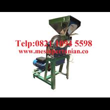 Chili Milling Machine - Penepung Chili Machine (Disk mill) Stainless Steel Capacity 450 Kg / Hour