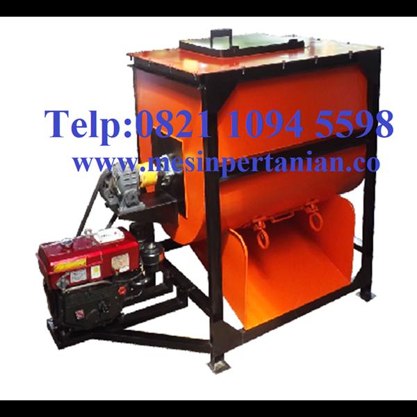 Mesin Mixer Pengaduk Adonan Pelet Kapasitas Mesin 100 Kg / Batch